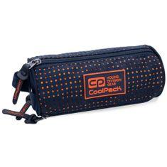 CoolPack Školní pouzdro Omni Dots oranžovo/modrý