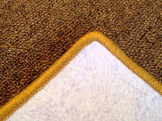 Vopi Kusový koberec Modena zlatohnedá čtverec