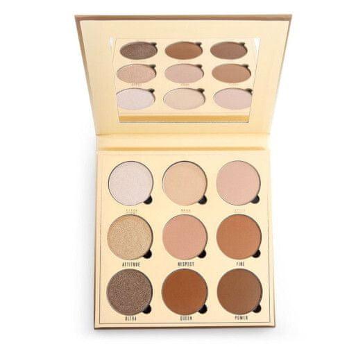 Makeup Obsession Rzut Obsesją na punkcie makijażu Shade (Contour Palette) 9 x 2,2 g