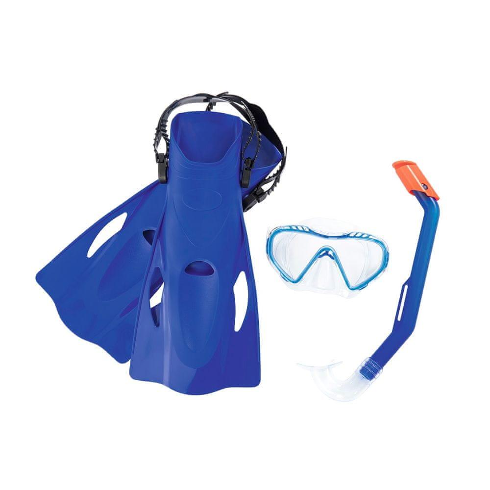 Bestway potápěčský set Hydro Swim 25025 s ploutvemi - modrý