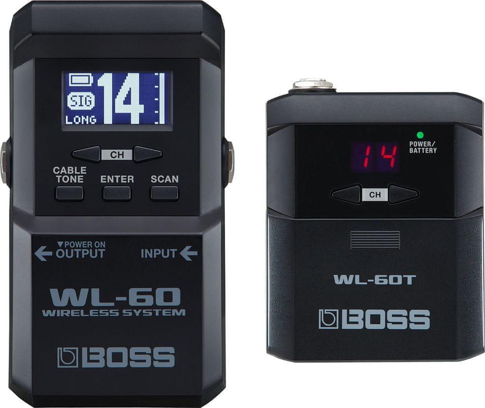 BOSS WL-60 Kytarový/baskytarový bezdrátový set