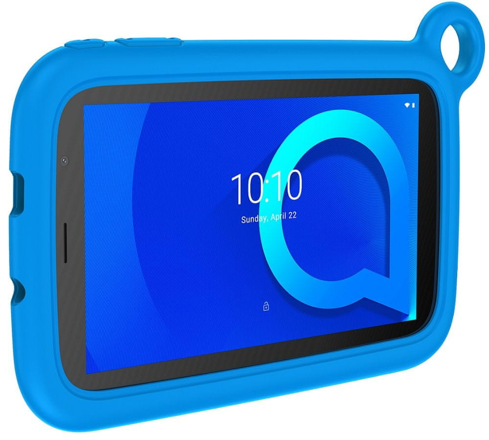 Alcatel 1T 7 2019 Kids, 1GB/16GB, Wi-Fi, Blue Bumper Case