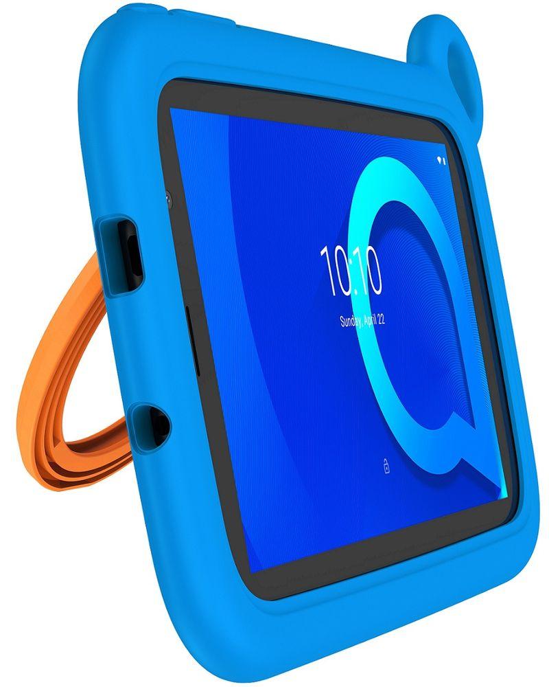 Alcatel 1T 7 2019 Kids, 1GB/16GB, Wi-Fi, Blue Bumper Case