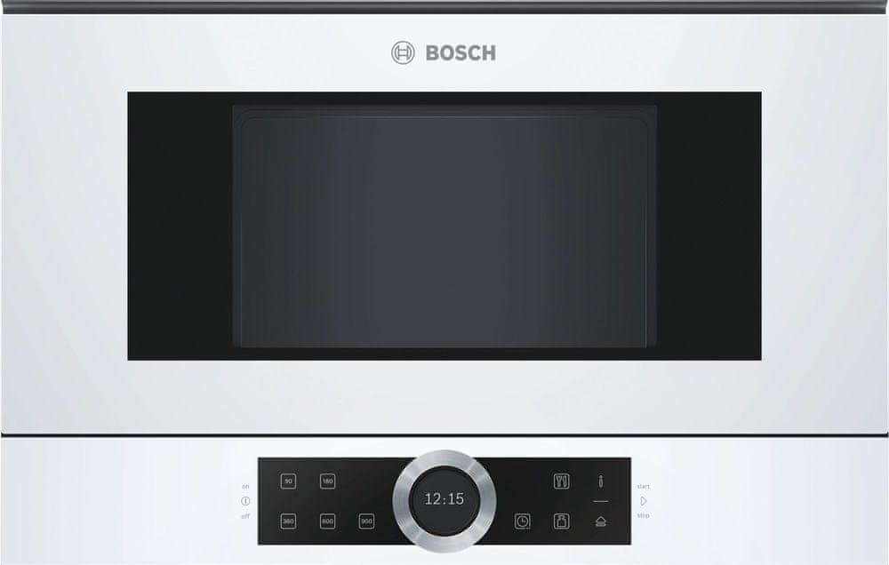 Bosch vestavná mikrovlnná trouba BFL634GW1
