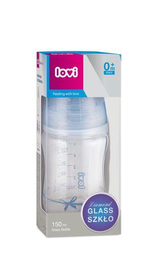LOVI Baby Shower otroška steklenička, 150 ml