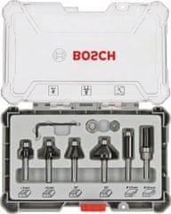 Bosch komplet rezkarjev za obrobe in robove 6 mm, 6-delni (2607017468)