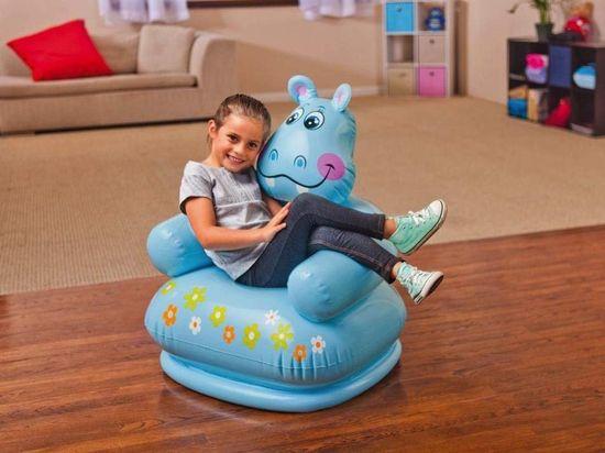 Intex 68556 Nadmuchiwany fotel - Hipopotam
