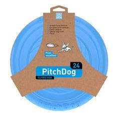 Pitch Dog repülő DISK kutyáknak kék 24 cm