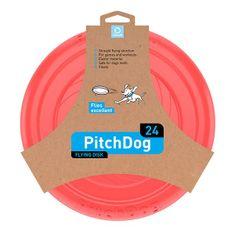 Pitch Dog repülő DISK kutyáknak rózsaszín 24 cm