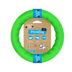 Pitch Dog KÖR edzésre kutyáknak zöld színben20 cm