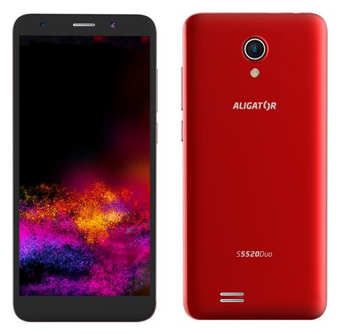 Aligator S5520 Duo, 1GB/16GB, červený