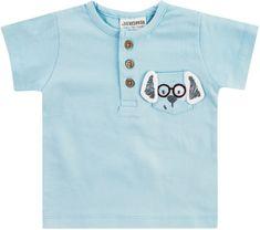 Jacky chlapecké tričko s krátkým rukávem 86, modrá