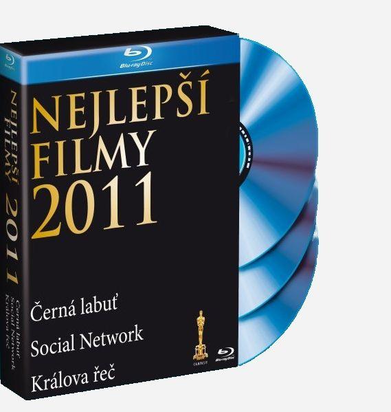 NEJLEPŠÍ FILMY 2011 (KRÁLOVA ŘEČ, SOCIAL NETWORK, ČERNÁ LABUŤ) - Blu-ray