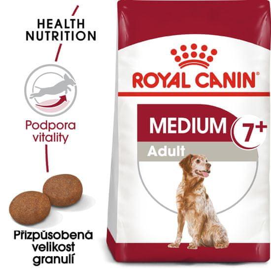 Royal Canin sucha karma dla psa Medium Adult +7 - 15 kg