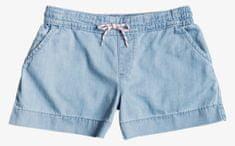 ROXY lány rövidnadrág Setfreedenim, 10, kék