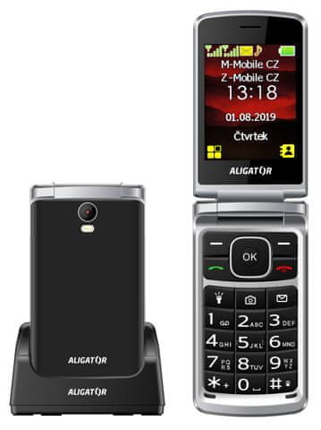 Aligator V710, Black