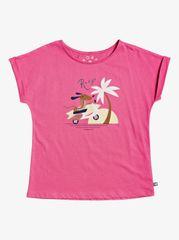 Roxy dívčí tričko Teeniefriend 8 růžová