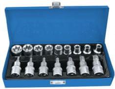 "AHProfi Sada vnitřních nástrčných klíčů 1/2"" TORX a 1/2"" hlavice s bity 16 ks - AH121701"