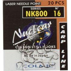 Háčky Colmic NK800 velikost háčku: 16