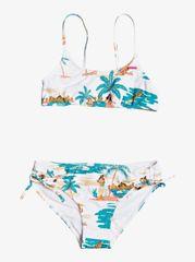ROXY dievčenské dvojdielne plavky Lv Waim Brl St 8 biela