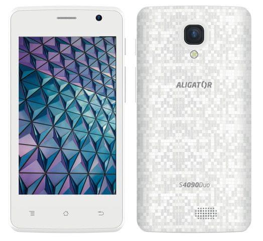 Aligator S4090 Duo, 1GB/8GB, White