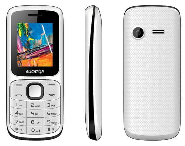Aligator D210, White/black - zánovní