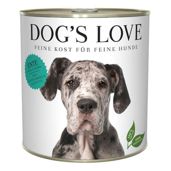 Dog's Love hrana za pse Adult Classic patka, 800 g