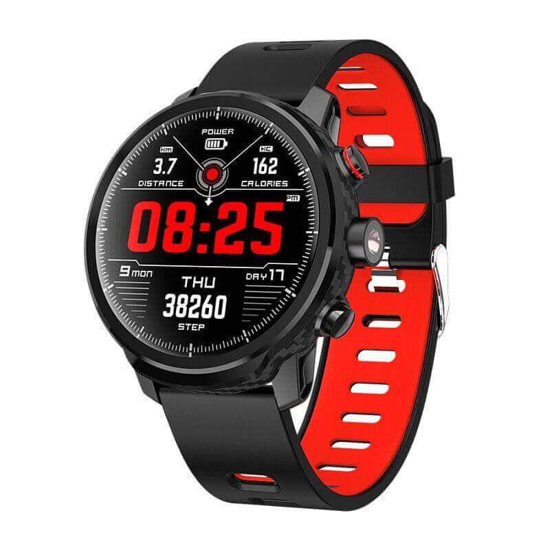 Printwell chytré hodinky S-005, červené