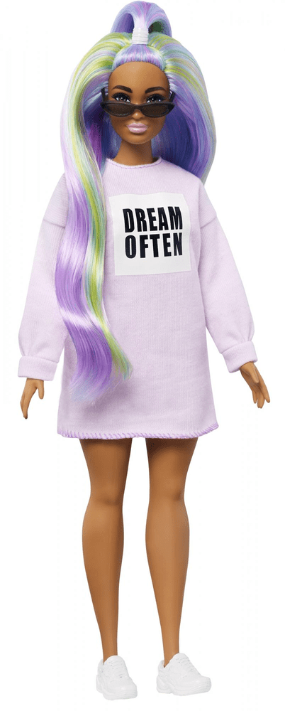 "Mattel Barbie Modelka 136 - šaty ""dream often"""