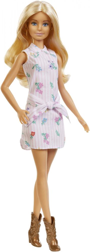 Mattel Barbie Modelka 119 - růžové šaty