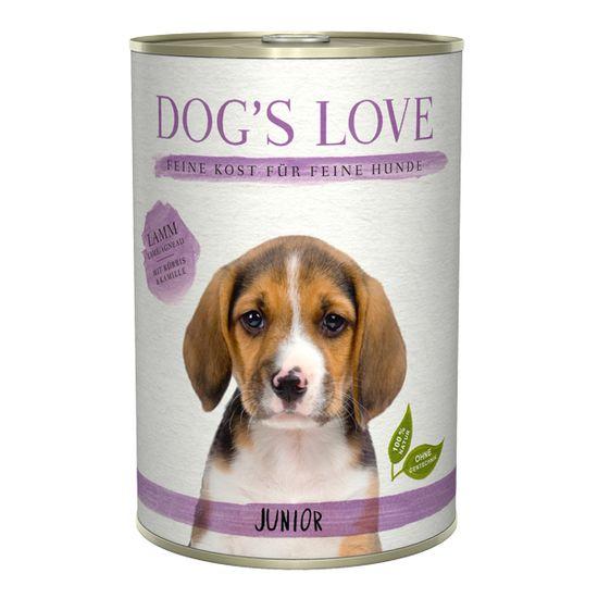 Dog's Love konzerva Junior Classic jahňacie 400 g