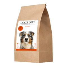 Dog's Love granulátum Adult marha 2 kg