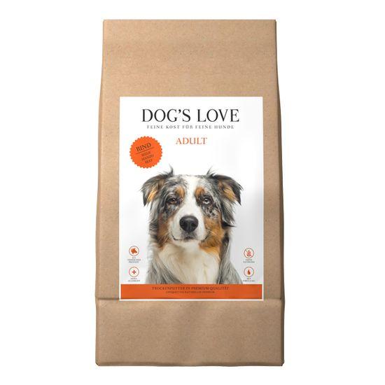 Dog's Love Adult pseći briketi, govedina, 12 kg