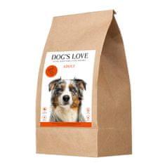 Dog's Love granulátum Adult marha 12 kg