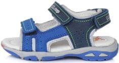 D-D-step Fiú szandál AC290-703, 25, kék
