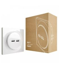 FIBARO USB zásuvka bez inteligence - FIBARO Walli N USB Outlet (FGWU-021)