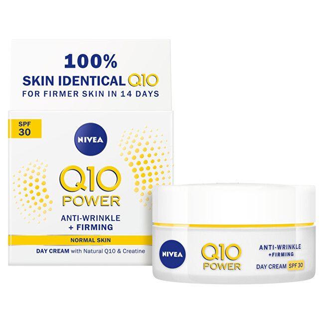 Nivea Zpevňující denní krém proti vráskám Q10 Power SPF 30 (Anti - Wrinkle + Firming Day Cream) 50 ml