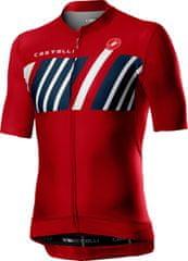 Castelli Hors Categorie Jersey Red L