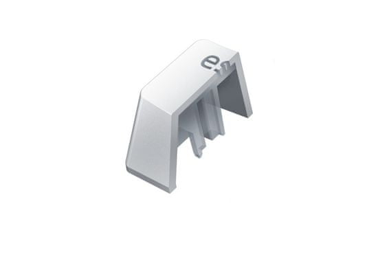 Razer komplet tipk PBT Keycap Upgrade Set - Razer Mercury White, bela (RC21-01490200-R3M1)