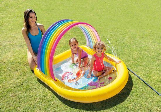Intex basen dziecięcy z fontanną 57156