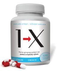 Novax  1-X - plodnost, erekce a kvalita spermií - 120 tobolek