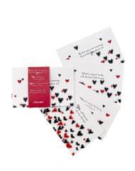 Muflon paket voščilnic Follow your heart, 4kos