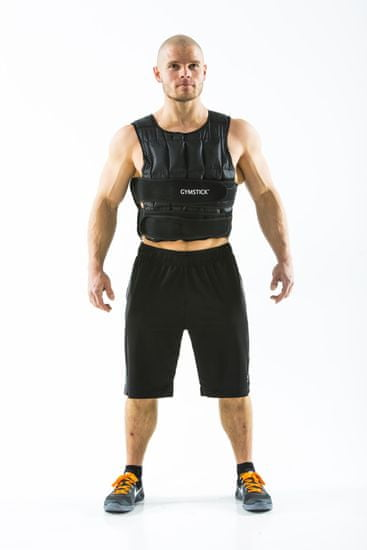 Gymstick Power Vest obtežilni jopič, 20 kg