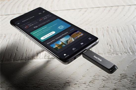 SanDisk dysk flash Ultra Type-C 128GB