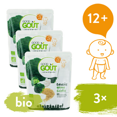 Good Gout BIO Quinoa s brokolicí a ricottou 3x 220 g