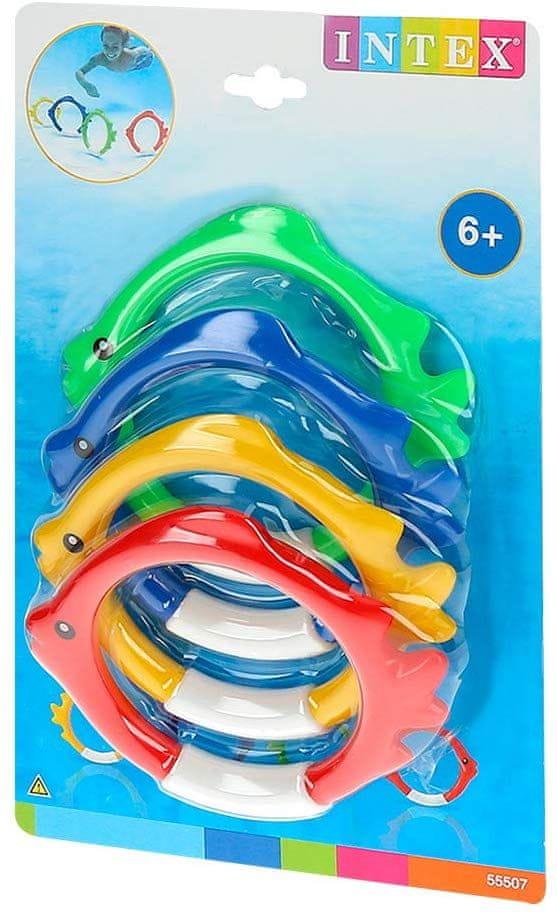 Intex 55507 Zábavné plastové kroužky pro potápění