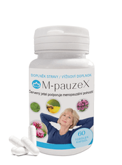 Novax  M-pauzeX - komfort během menopauzy 60 tobolek