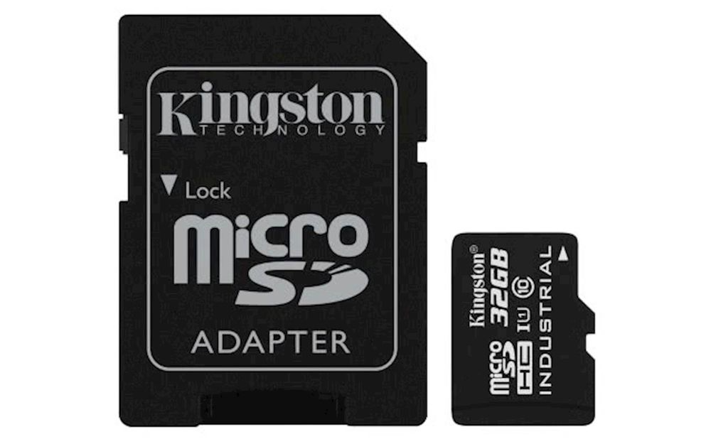 Kingston Industrial Micro SDHC 32GB Class 10 UHS-I + SD adaptér (SDCIT/32GB)
