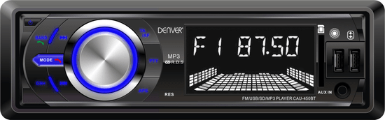 Denver radio samochodowe CAU-450BT