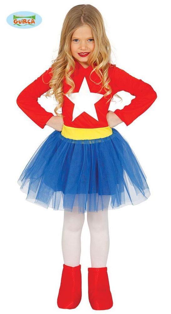 Dětský kostým Supergirl - Superholka - velikost 3-4 roky